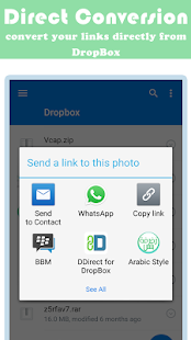 how to direct download from dropbox 4gb