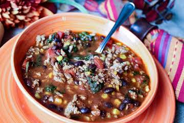 Guiltless Back to School Chili