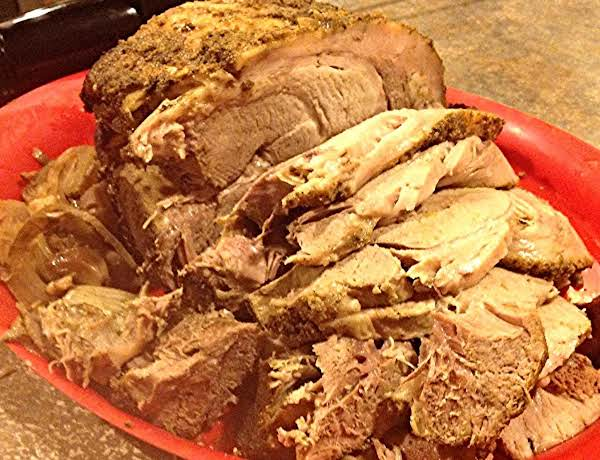Table Top Roasted Pork Butt Roast Recipe