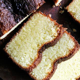 Ottolenghi's Lemon-Semolina Almond Cake.