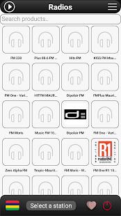 Mauritius Radio FM - náhled