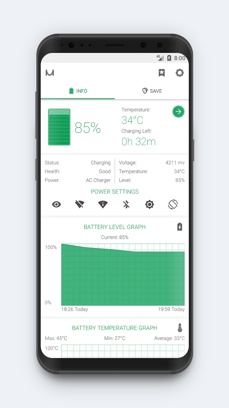 Battery Manager (Saver) Screenshot