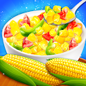Sweet Corn Food - Free Restaurant Cooking Game icon