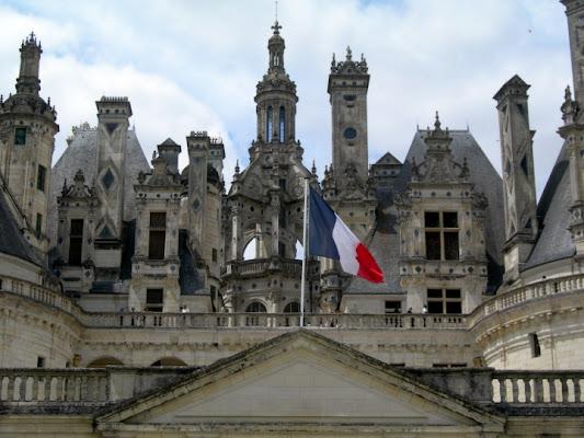 Tricolore francese di cordina