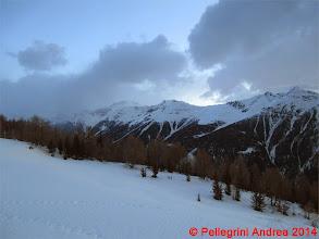 Photo: IMG_6942 le cime sopra Cogolo, dal pianoro 2142