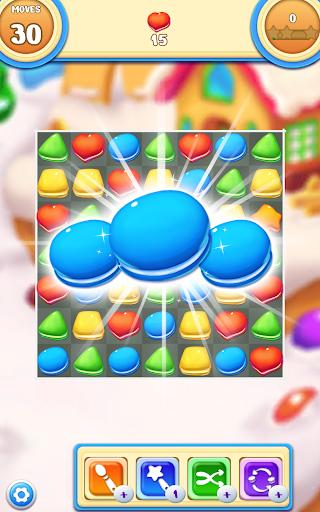 Cookie Macaron Pop : Sweet Match 3 Puzzle filehippodl screenshot 11