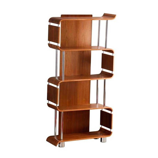 Jual Curve Walnut BS201 Bookshelf