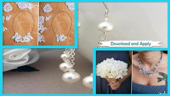 Simple DIY Wedding Jewelry Ideas - náhled