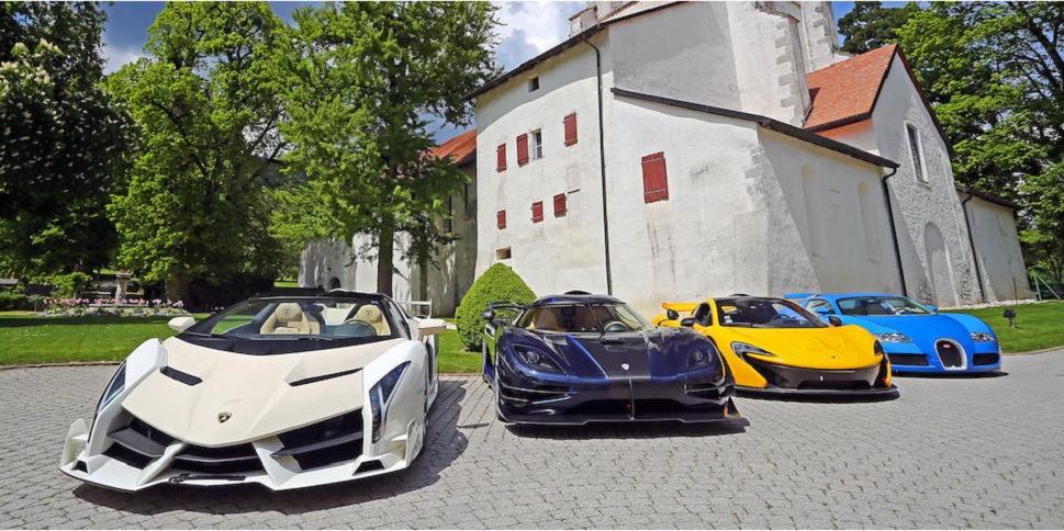 Corrupt politician's supercars auctioned for R557m