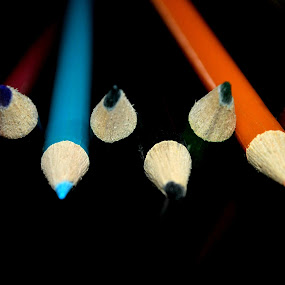 Colored Pencils by Leony Sibug - Artistic Objects Other Objects ( pen, colorful pens, grease pencils, colors, colorful pencils, crayons, colored pencils, pens )