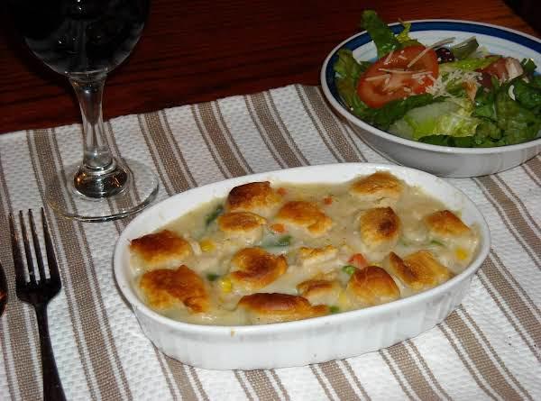 Individual Chicken Pot Pies Recipe