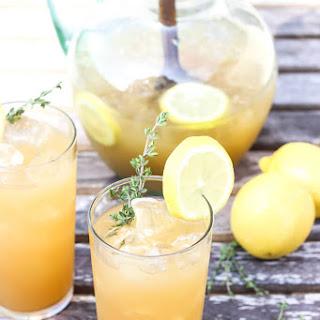 Herb Infused Lemonade.
