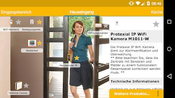 Screenshot of Somfy Smart Home Konfigurator