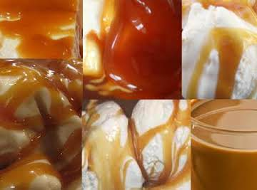 Hot Caramel Ice Cream Topping