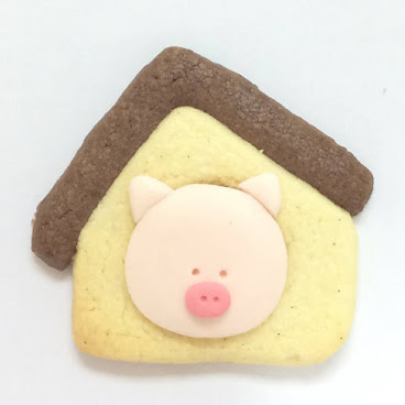 PIG HOUSE POP COOKIE