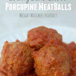 Skinny Porcupine Meatballs