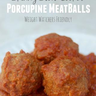 Skinny Porcupine Meatballs.