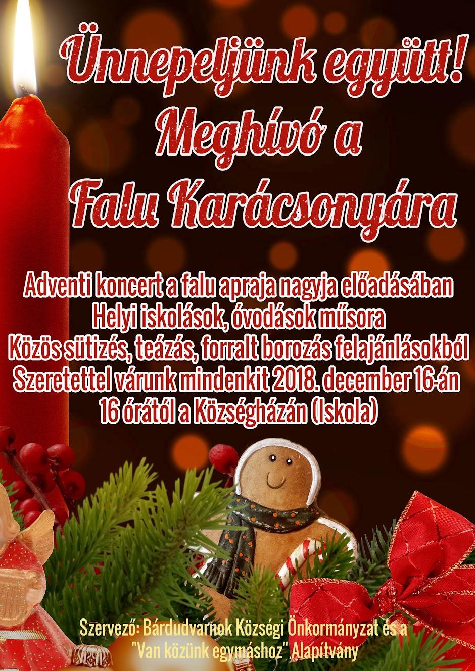 Karácsony 2018