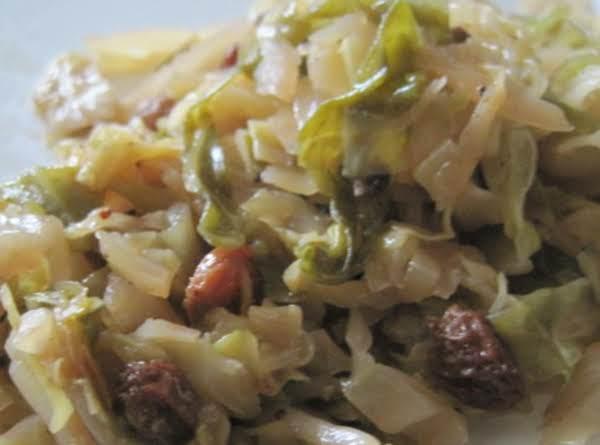 Drunken Cabbage Recipe