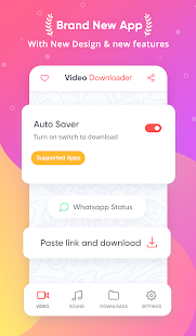 Video Downloader - kein Wasserzeichen Screenshot