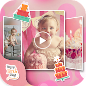 🎂🎂 Birthday Slideshow Maker