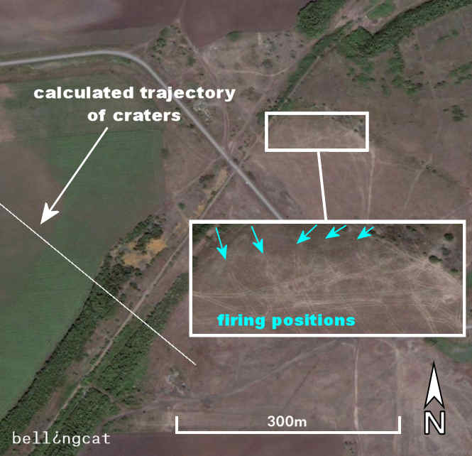 Firing position near Ukrainskiy, Russia
