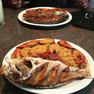 Thieboudienne (Senegalese Fish and Rice).