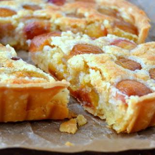 Rainier Cherry Almond Tart.