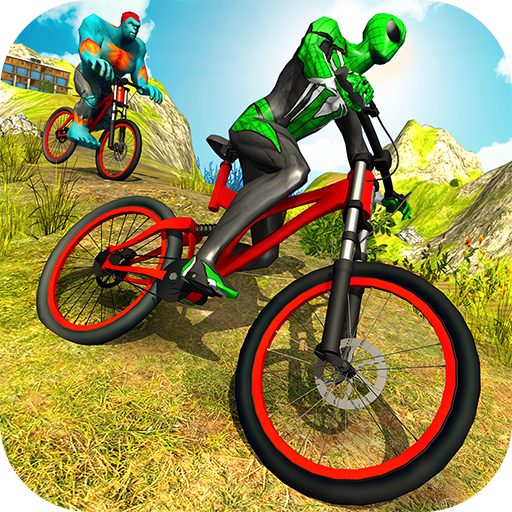 Offroad Superhero BMX Bicycle Stunts Racing file APK for Gaming PC/PS3/PS4 Smart TV