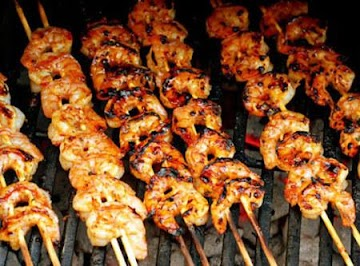 Tequila-lime Grilled Shrimp Skewers Recipe