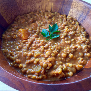 Crockpot Curry Lentil Soup