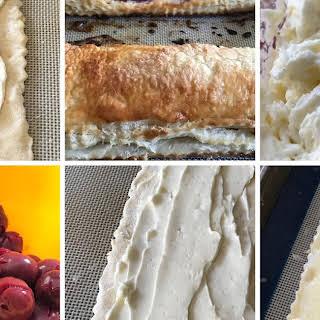 Morello Cherry Cream Cheese Danish.