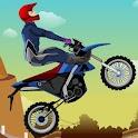 Downhill Racing Bike icon