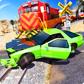 Car Vs Train - Racing Games Android APK Download Free By GAME TSUNAMI