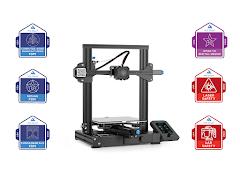 New Collar Master Badge Job Skills Creality Ender 3 V2 3D Printer Bundle - Self Paced