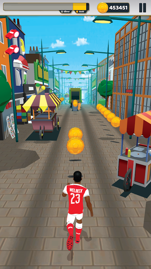 Arsenal FC - Endless Football- screenshot