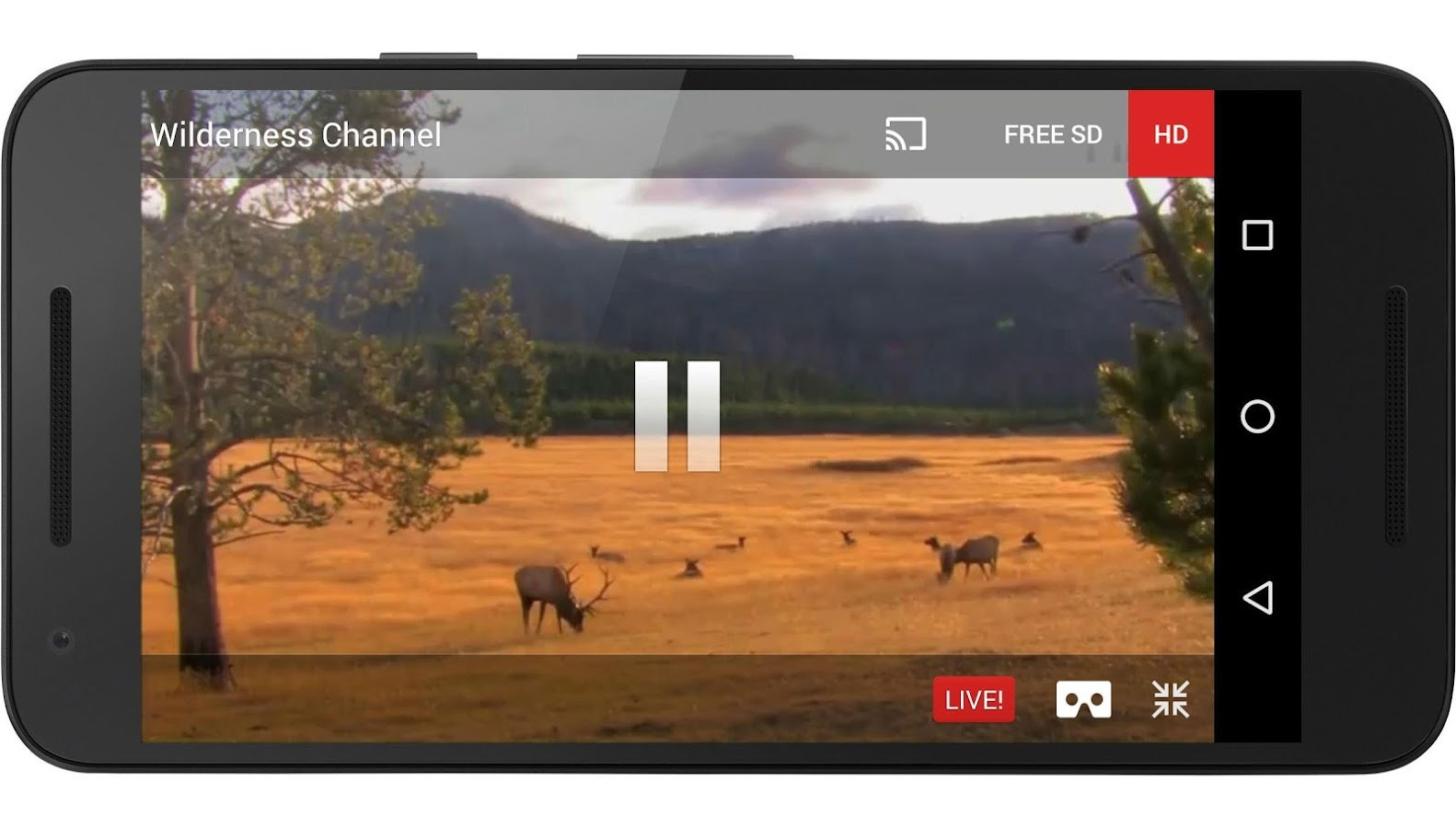 FilmOn Free Live TV & RECORD- screenshot