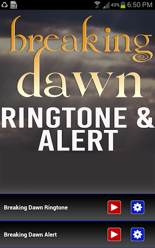 Breaking Dawn Ringtone Alert
