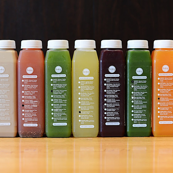 Cold Pressed Juices made fresh daily!