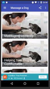 Massage a Dog - náhled