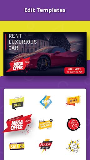 Banner Maker, Cover Designer, Thumbnail Creator 15.0 Apk for Android 4