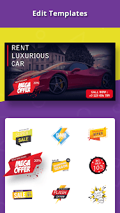 Banner Maker Thumbnail Creator Cover Photo Design Mod Apk Download For Android 4