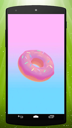 Donut Live Wallpaper