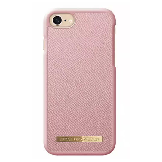 iDeal Fashion Case Saffiano för iPhone 6-6S-7-8 Rosa