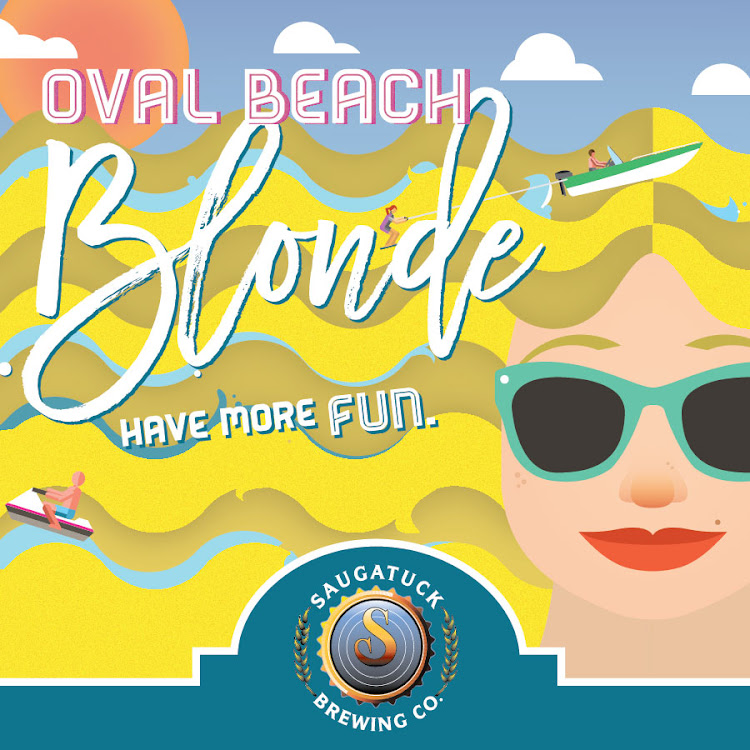 Oval Beach Blonde from Saugatuck Brewing Company