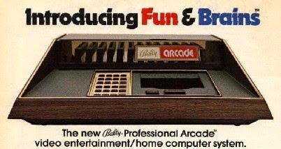 Bally Arcade: Fun & Brains, una consola de cartuchos intercambiables y tenía la posibilidad de programar juegos desde y para la misma consola.