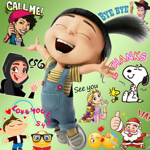 Emoji HD Talking Stickers Icon
