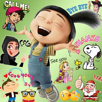Emoji HD Talking Stickers