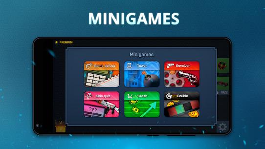 Case Opener Mod Apk – skins simulator with minigames 4