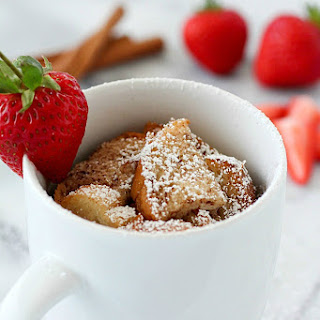 Easy Mug French Toast